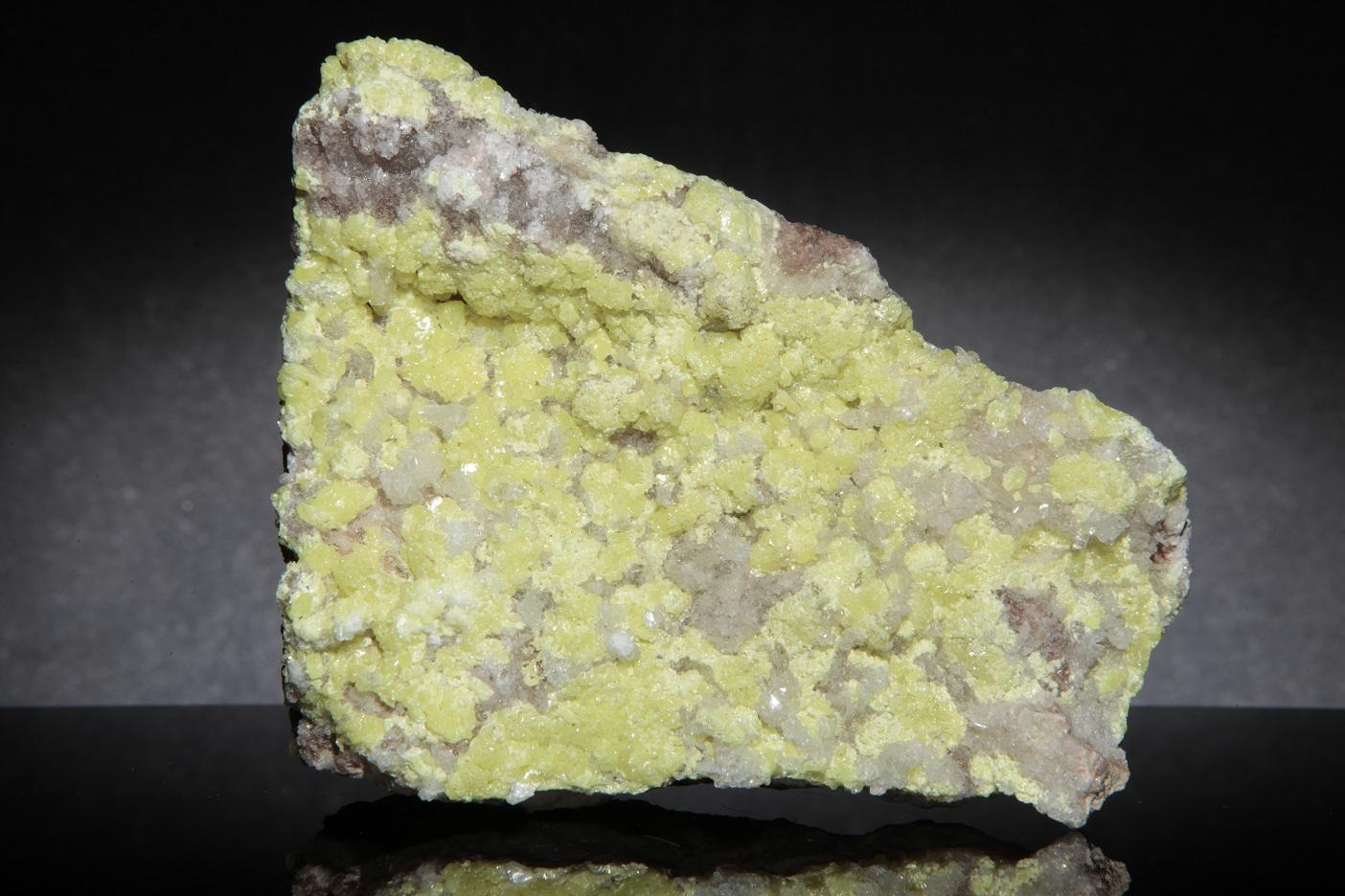 Sulfur - D16-35 - Scofield Quarry - USA Mineral Specimen |Sulfur Mineral