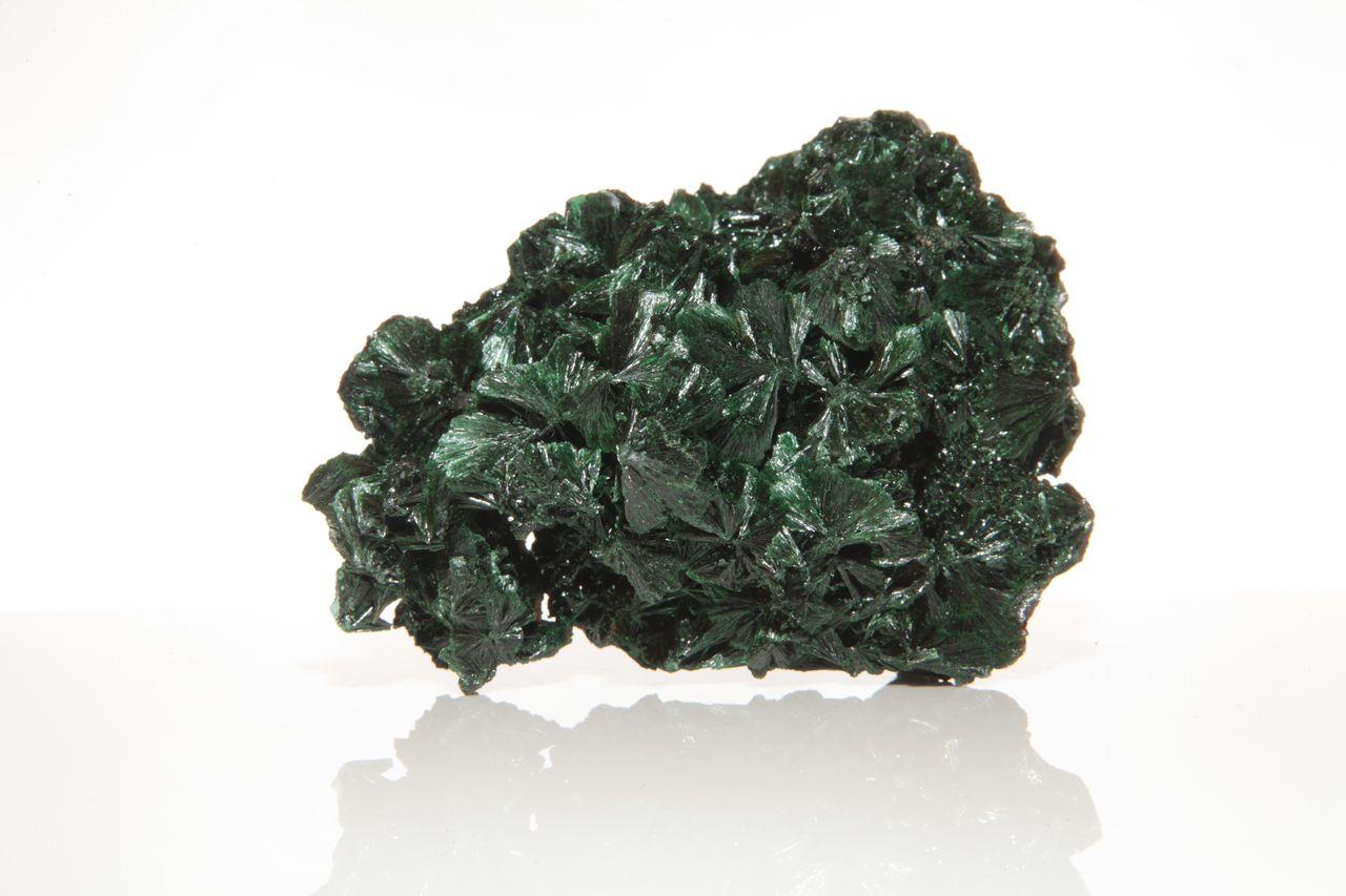 Fibrous Malachite Mineral Specimen - Celestial Earth Minerals